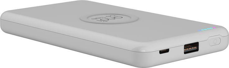 The easy handling andi wireless powerbank is able to store plenty of energy. Anytime and anywhere energy is needed the powerbank supplies energy to your indispensable smartphone.