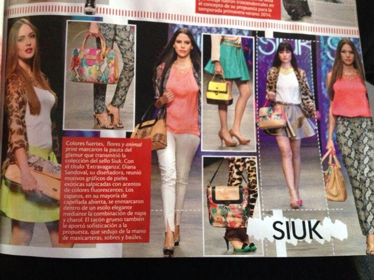 Nota especial de Siuk en el Santander Fashion Week SFW 2013 por la revista INFASHION