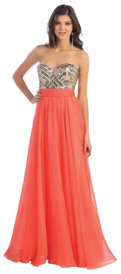 O fallon il prom dresses orange