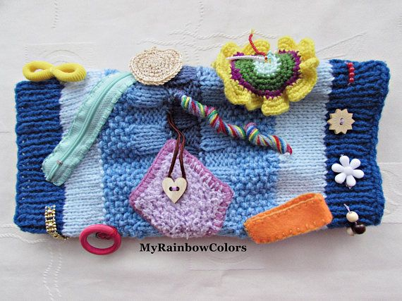 Your Place To Buy And Sell All Things Handmade Handmade Knitting Fidget Quilt Sensory Blanket