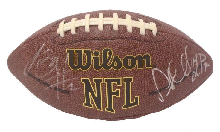 2016 Seattle Seahawks Team Autographed NFL Wilson Composite Football, Proof Photo