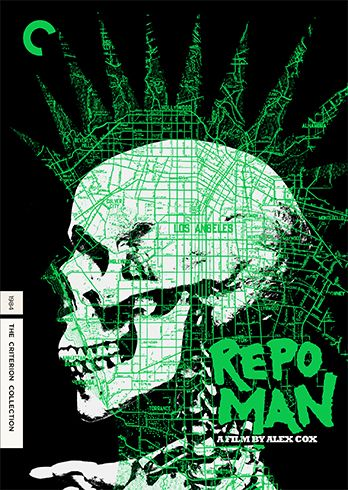 "The Criterion Collection - ""Repo Man"" by Alex Cox."