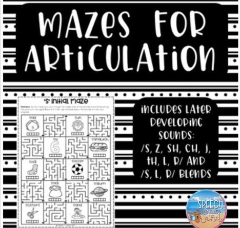 Mazes For Articulation