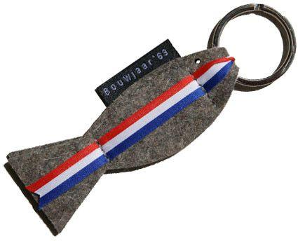 sleutelhanger 'hollandse nieuwe' - bouwjaar '63
