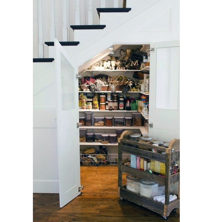 Under Stairs Kitchen Storage Ideas: 17 Best Ideas About Under Stairs Pantry On Pinterest