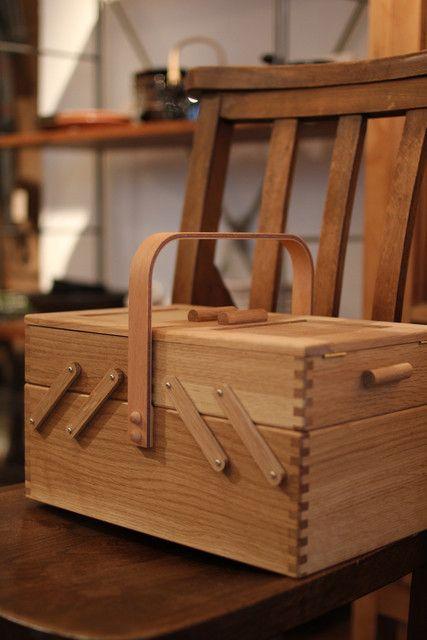 MyWay Living -- 橡木裁縫收納箱