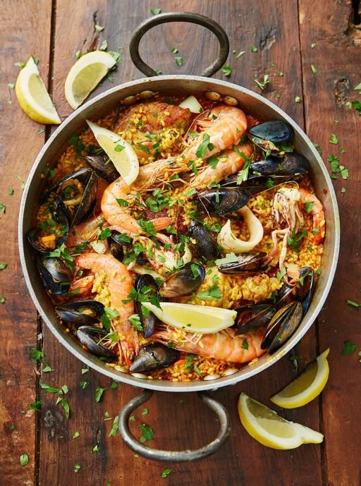 Seafood Paella | Seafood Recipes | Jamie Oliver Recipes