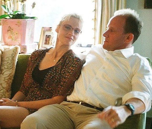 Julia Louis-Dreyfus' half-sister Phoebe Eavis with husband Peter