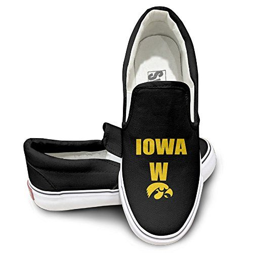 CYANY University Of LowaHawkeyes Basketball  You Cant Spell Iowa Without The W Fashion Sneakers Shoes Travel Black ** Check out the image by visiting the link.