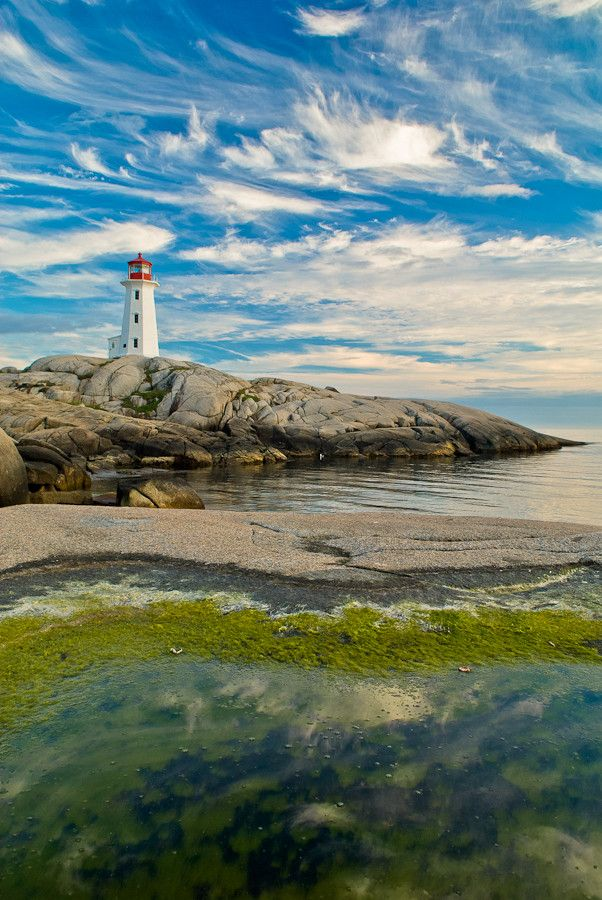 Peggy's Cove. Have the lighthouse tattooed on my leg. :)