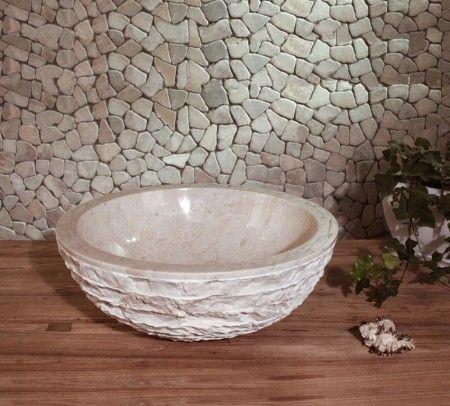 Раковина из мрамора Marble White