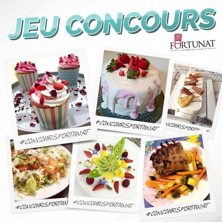 ⚠️Plus qu'une dizaine de jours pour participer à notre jeu concours ! ⚠️ Alors n'attendez plus, on compte sur vous! 🎉🍰#jeuconcours #fortunat #passion #cuisine #réalisation #sucré #salé