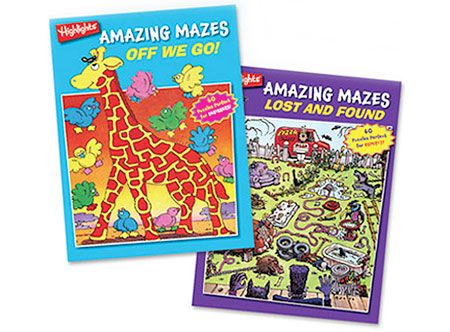 Highlights Amazing Mazes - 2 Book Set by Highlights - $14.98