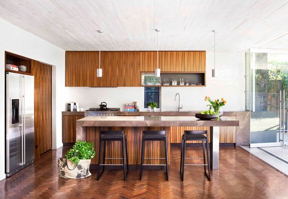 wood look kitchen