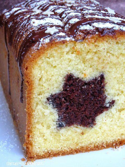 Schon ganz lange hatte ich vor, dass ich mich einmal an einem Kuchen mit Motiv drin versteckt versuche. Ich habe mich für einen Stern entschieden, das passt jetzt prima in die Vorweihnachtszeit. Da…