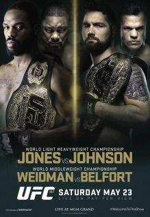 UFC 187: Jones vs. Johnson - 23 Maggio