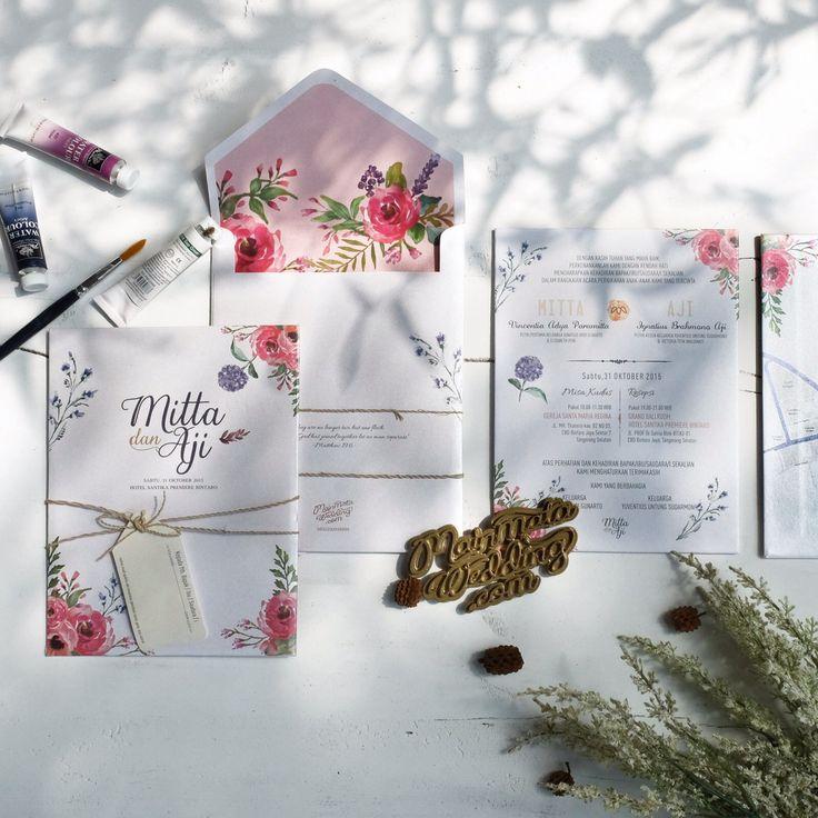 Pernikahan Mitta dan Aji di Jakarta