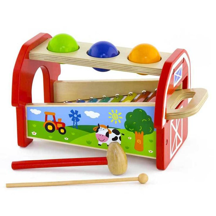 Buy Wooden Pounding Bench with Xylophone Online at Toy Universe