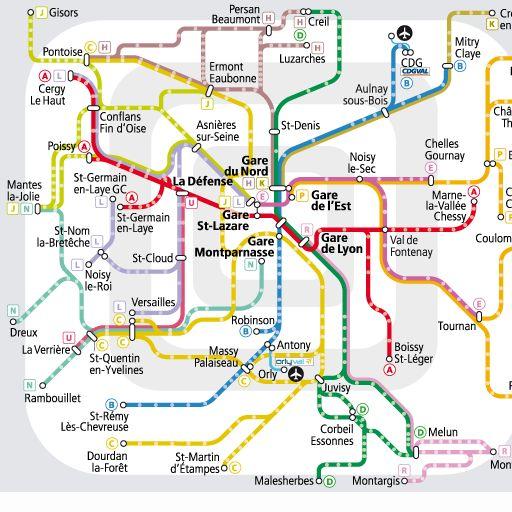 Paris metro RATP