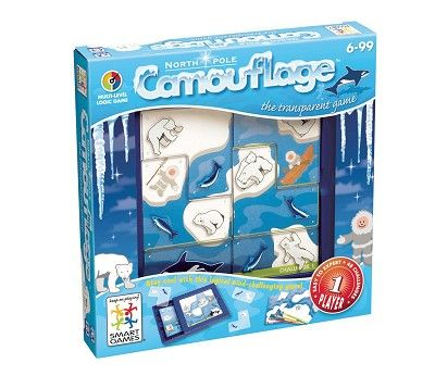 Spill, Smart Games Camouflage North Pole fra Sprell. Om denne nettbutikken: http://nettbutikknytt.no/sprell-no/