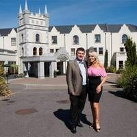 A LUXURY hotel owned by troubled businessman Bill Cullen and his partner Jackie Lavin has gone into receivership.