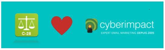 Se conformer à la Loi C-28 anti-pourriel au Canada: c'est simple avec Cyberimpact. http://www.cyberimpact.com/blog/se-conformer-a-la-loi-c-28-anti-pourriel-au-canada-cyberimpact/