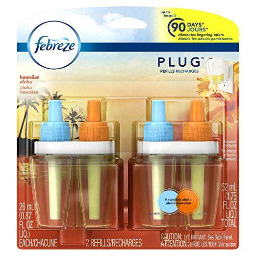 2-Ct of 1.75oz Febreze Plug Air Freshener Refills (Hawaiian Aloha) $1.85