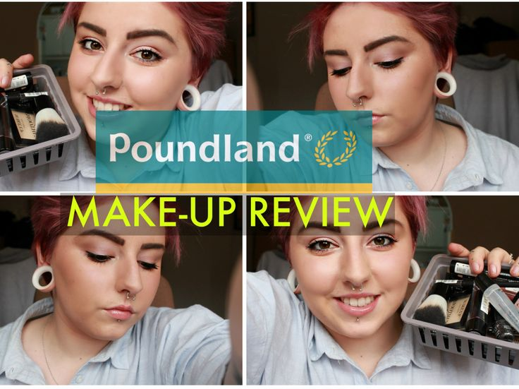 Poundland Make-Up Review | Charldeeblogs