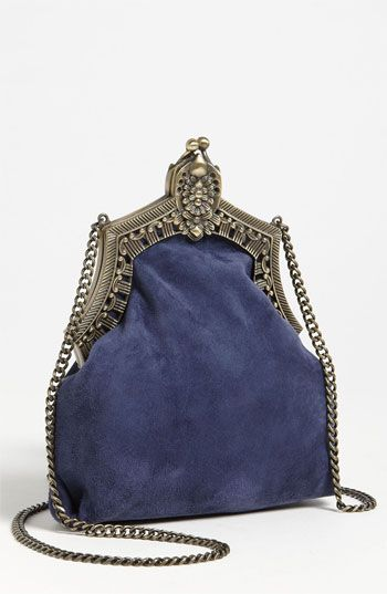 House of Harlow 1960 'Rey' Velvet Pouch --- know somebody who will love this :)