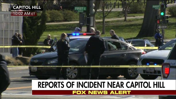 Breaking News: Shots were fired after a US Capitol police cruiser was struck, Fox 5 reports, adding that a suspect is in custody.
