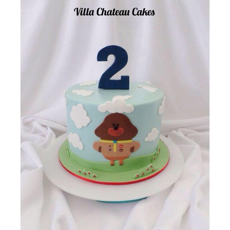 Duggee Birthday cake