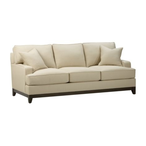 Ethan Allen Furniture Sofas Kendall Leather Sofa Sofas Loveseats Sitegenesis 101 1 2 Thesofa