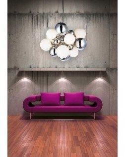 Lampa wisząca NOBLE marki AZzardo. Przedstawiamy Państwu żyrandol Noble Nowoczesny design w przystępnej cenie Lampa Noble wykonana jest z metalu oraz szkła Źrodła światła w tej lampie to dziesięć żarn ...