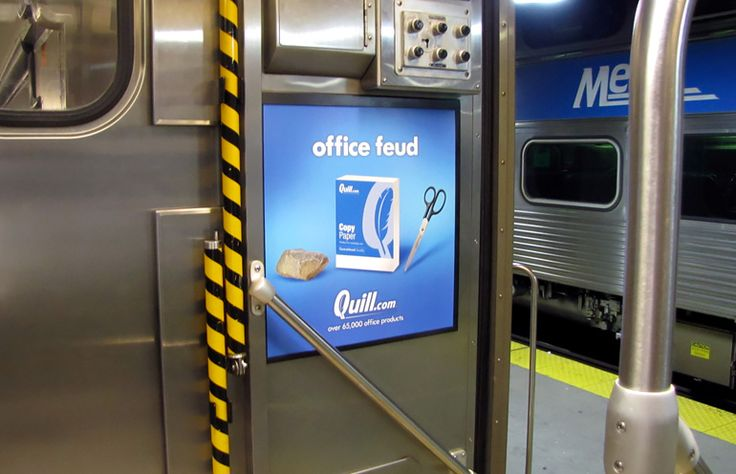 Subway and Rail Advertising