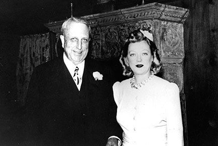 Marion Davies and William Randolph Hearst