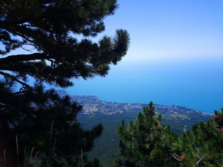 1234 метра над уровнем моря, Ай-Петри.