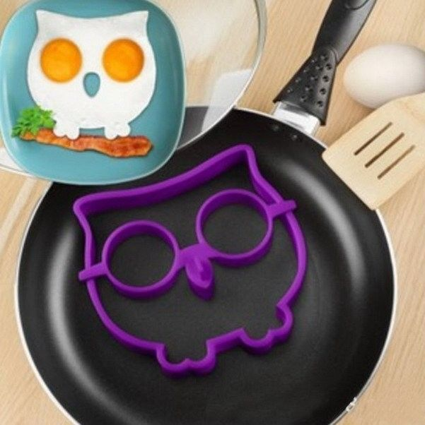 How adorable is this Owl Shaped Egg Mold?! Right now at Amazon you can snag it for only $4 shipped! This would be such a fun way to serve breakfast to the kiddos (and probably lots of adults too)! There are only two reviews so far, but they are both good and it has a 4.5/5 star rating. This would make a really unique gift idea for any owl fan you may know! Material: Eco-friendly food safe hear-resistant hear-resistant silicone  {Read More}