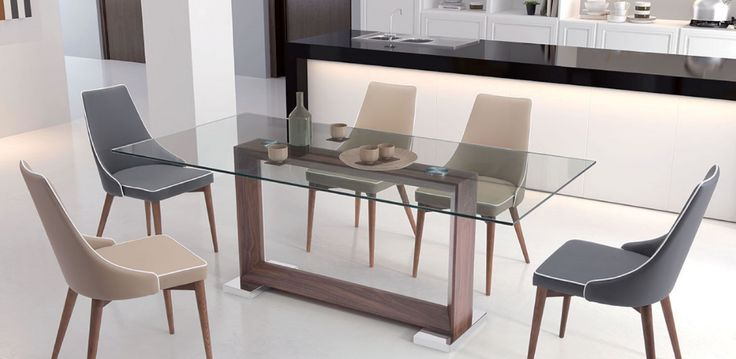How minimalistically beautiful is this Dining Table? We particularly, love the base! So clean!  https://www.barcelona-designs.com/products/oasis-dining-table?utm_content=buffer01808&utm_medium=social&utm_source=pinterest.com&utm_campaign=buffer #diningtablecollection #homedecor #diningroom #interiordesign #midcentury