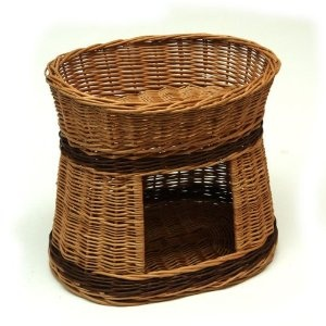 Two Tier Wicker Cat Bed House: Amazon.co.uk: Pet Supplies £4.97 delivery £24.50