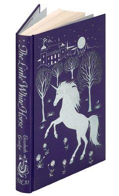 The Little White Horse book-Bound in buckram Blocked w/a design by Debra McFarlane $52.95