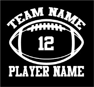Best  Football Girlfriend Shirts Ideas On Pinterest Boyfriend - Custom vinyl decals numbers for shirts