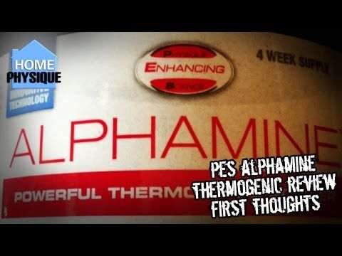 PES Alphamine | Thermogenic Fat Burner Supplement Review First Thoughts - http://www.sportsnutritionshack.com/fat-burners-thermogenics/pes-alphamine-thermogenic-fat-burner-supplement-review-first-thoughts/