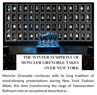 THE WINTER SYMPHONY OF MONCLER GRENOBLE TAKES OVER NEW YORK  #presentations #NYFW #stage #artistic #performance #spectacle #singers #hunterandgatti #audience