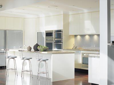 White Glass Kitchen