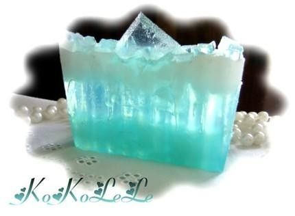 Aqua Soap by Kokolele on Etsy