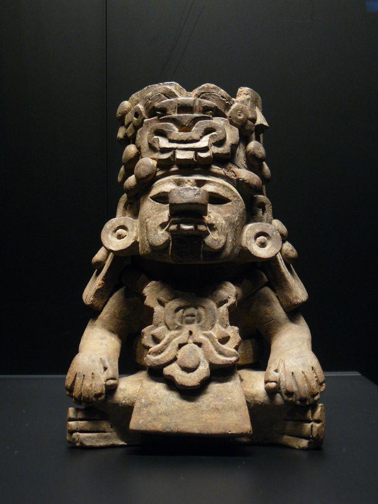 Représentation du dieu de la pluie zapotèque, Cocijo ...