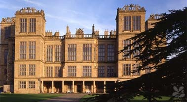 Hardwick Hall-  all of that glass in 1590