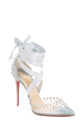 19424a0ccb8 CHRISTIAN LOUBOUTIN MECHANTE REINE ANKLE WRAP PUMP.  christianlouboutin   shoes