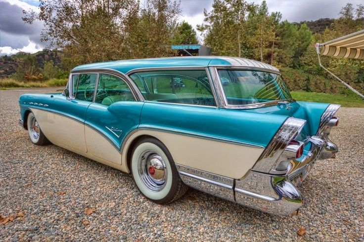 1957 Buick Caballero Maintenance/restoration of old/vintage vehicles: the material for new cogs/casters/gears/pads could be cast polyamide which I (Cast polyamide) can produce. My contact: tatjana.alic@windowslive.com