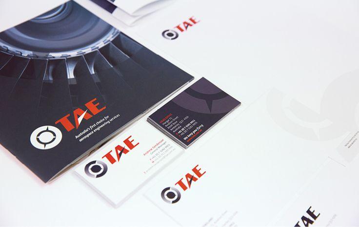 Salt Portfolio // TAE - business card - corporate stationary - corporate profile
